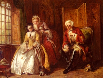The Bashful Lover by Abraham Solomon