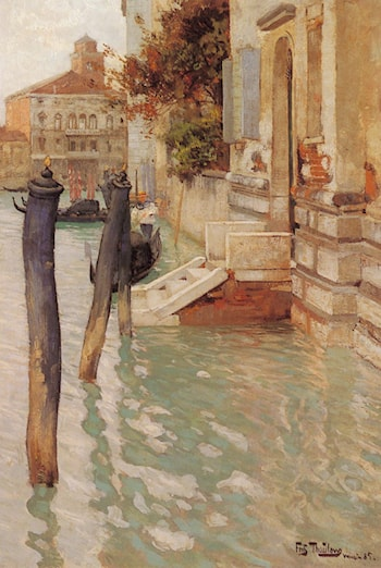 On The Grand Canal, Venice by Frits Thaulow