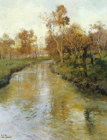 Autumn by Frits Thaulow