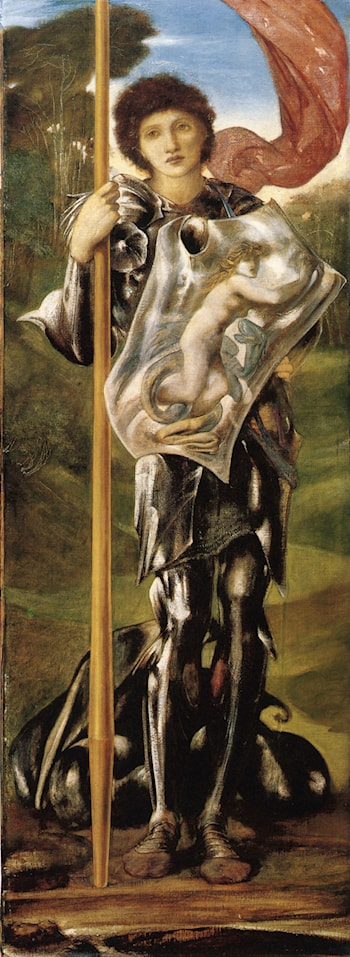 Saint George by Edward Burne-Jones