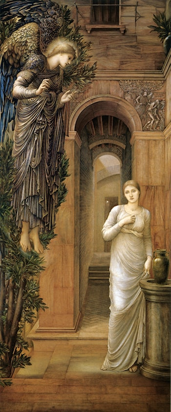 The Annunciation by Edward Burne-Jones