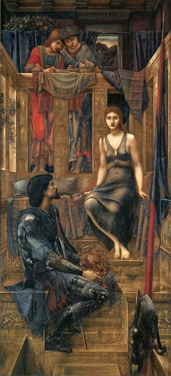 King Cophetua and the Beggar Maid by Edward Burne-Jones