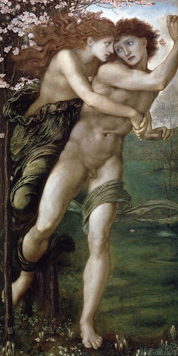 Phyllis and Demophoon by Edward Burne-Jones