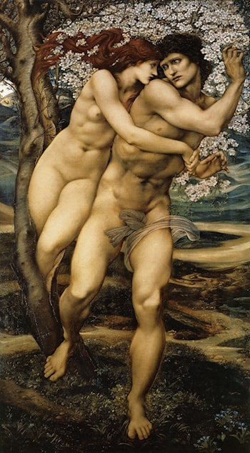 The Tree of Forgiveness by Edward Burne-Jones