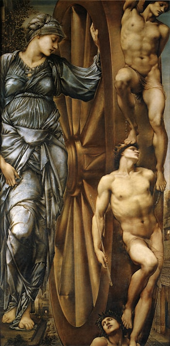 The Wheel of Fortune by Edward Burne-Jones