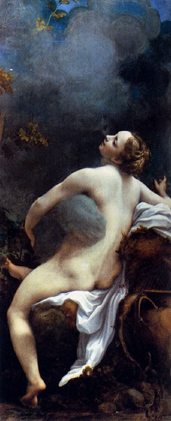 Jupiter and Io by Correggio