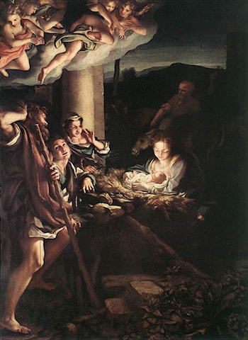 Nativity (Holy Night) by Correggio