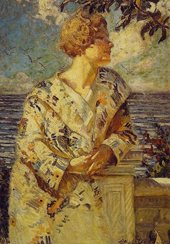 Woman by the Sea by William DeLeftwich Dodge