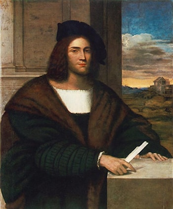 Portrait of a Man by Sebastiano del Piombo