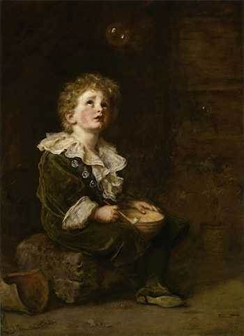 Bubbles by John Everett Millais
