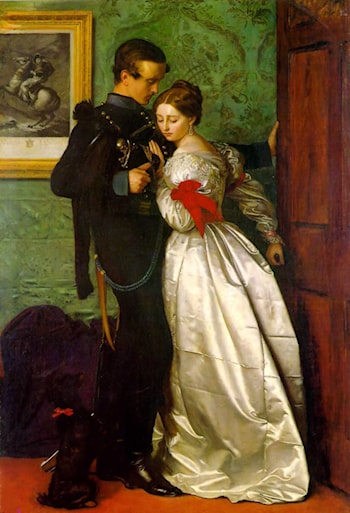 The Black Brunswicker by John Everett Millais