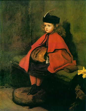 My First Sermon by John Everett Millais
