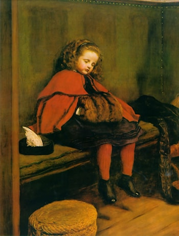 My Second Sermon by John Everett Millais