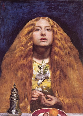 The Bridesmaid by John Everett Millais