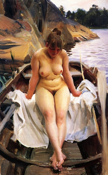 I Werners Eka by Anders Zorn
