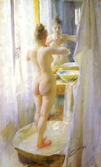 Le Tub by Anders Zorn