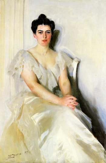 Frances Cleveland by Anders Zorn