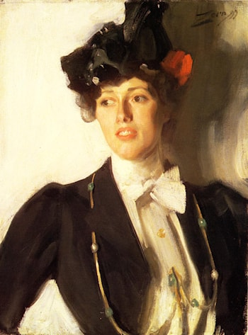 Martha Dana by Anders Zorn