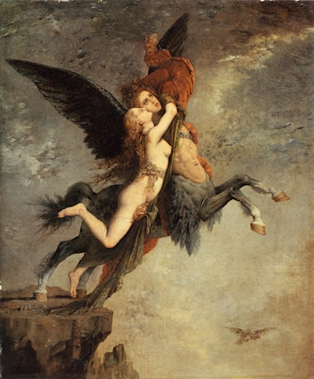The Chimera by Gustave Moreau