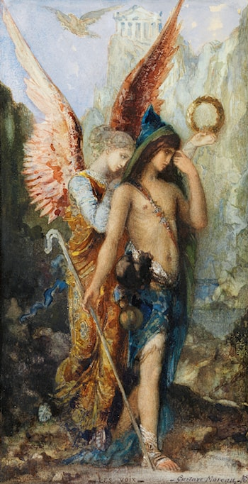 Voices by Gustave Moreau