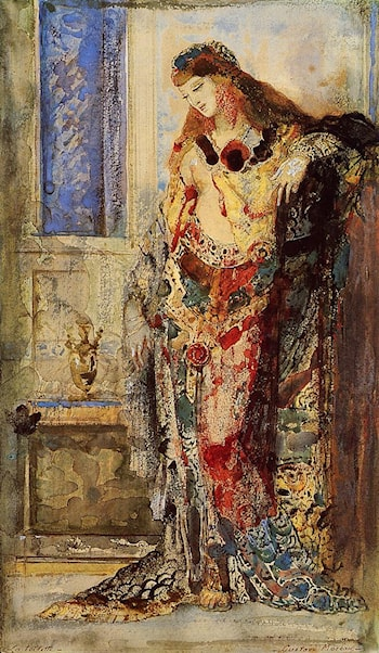 Woman Behind the Toilet by Gustave Moreau