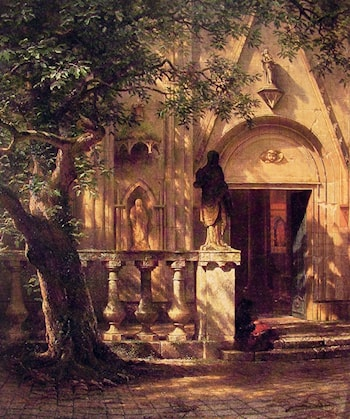 Sunlight and Shadow by Albert Bierstadt