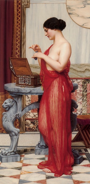 The New Perfume by John William Godward