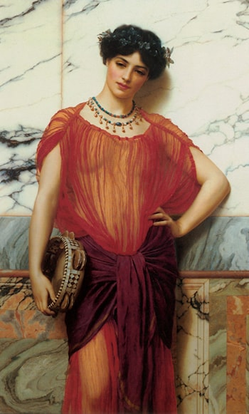 Drusilla by John William Godward