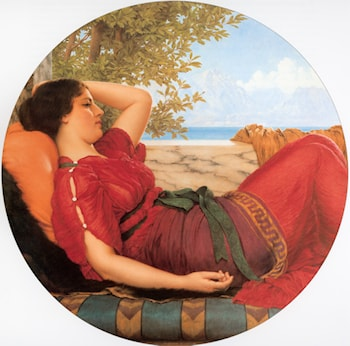 In Realms of Fancy by John William Godward
