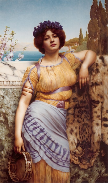 Ionian Dancing Girl by John William Godward