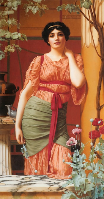 Nerissa by John William Godward