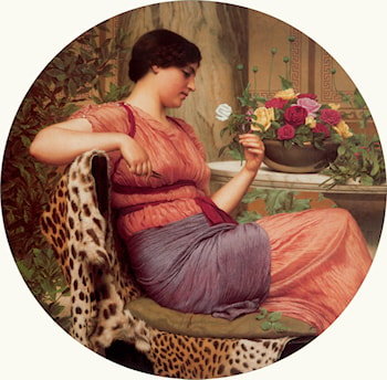 The Time of Roses by John William Godward