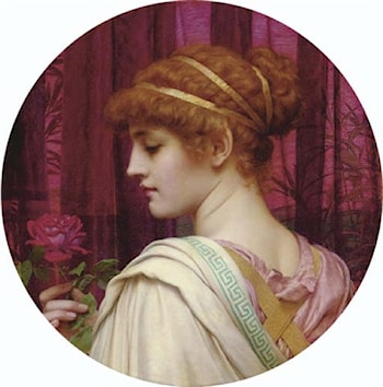 Chloris ­ A Summer Rose by John William Godward