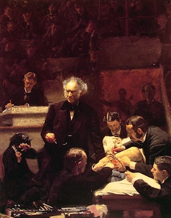 Portrait of Dr. Samuel D. Gross (The Gross Clinic) by Thomas Eakins