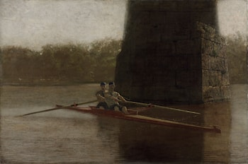 The Pair­ by Thomas Eakins