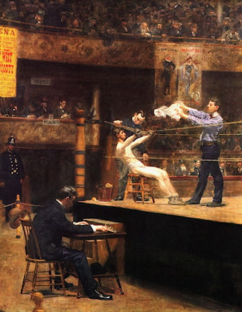 In the mid­time by Thomas Eakins