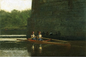 The Oarsmen by Thomas Eakins