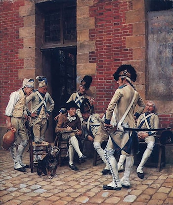 The Sergeant's Portrait by Jean-Louis Ernest Meissonier