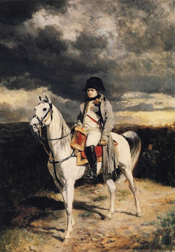Napoleon I in 1814 by Jean-Louis Ernest Meissonier