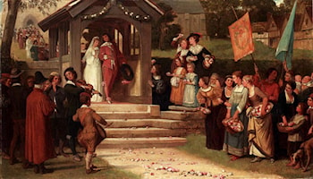 The Path Of Roses by William Frederick Yeames