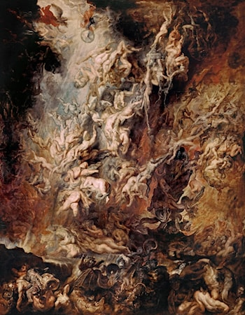 Fall of the Rebel Angels by Peter Paul Rubens