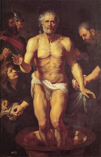 The Death of Seneca by Peter Paul Rubens
