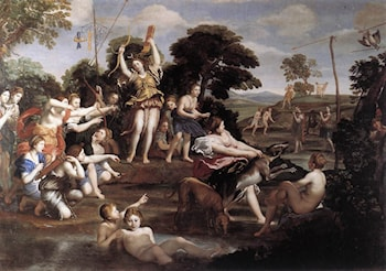 Diana and her Nymphs by Domenichino