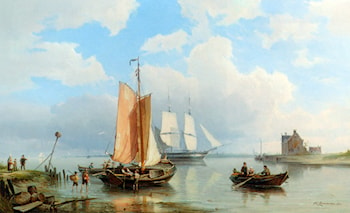Unloading the Catch by Pieter Christian Dommerson