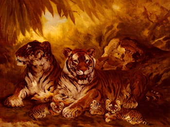 Masters of the Jungle by William Henry Drake