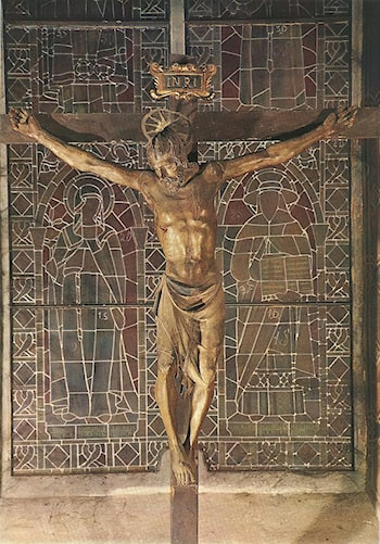 Crucifix by Donatello