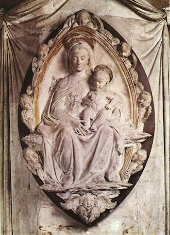 Annunciation by Donatello