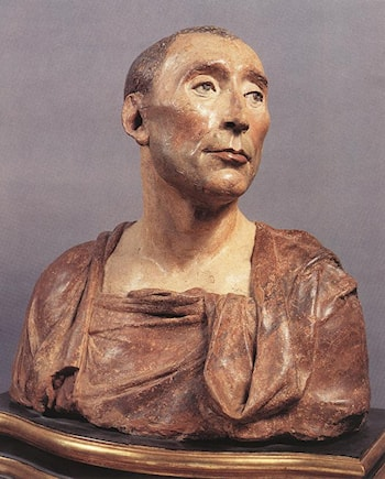 Bust of Niccolo da Uzzano by Donatello