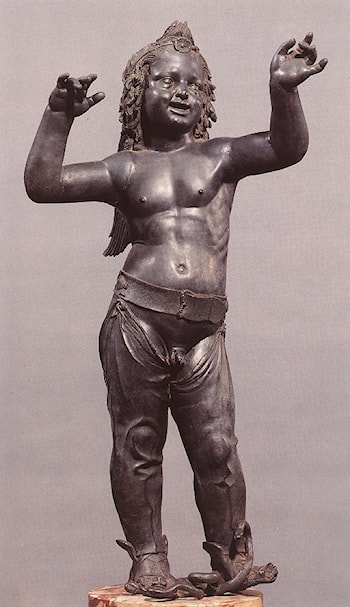 Allegoric Figure of a Boy (Atys) by Donatello