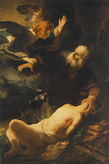 The Sacrifice of Abraham by Rembrandt